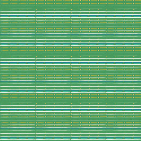 Herbe Jardin Dash Stripe in Green - Cotton Fabric By The Yard