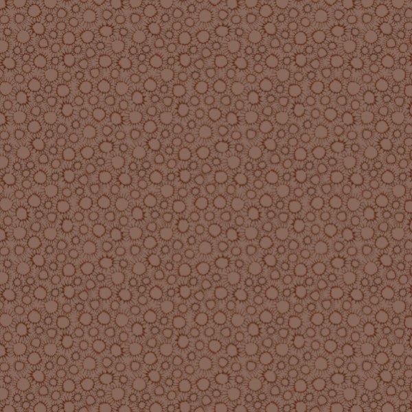Scatter in Brown - Cotton Fabric By The Yard