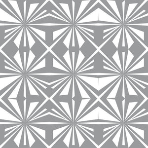 Pinwheel in Gray - Cotton Fabric By The Yard
