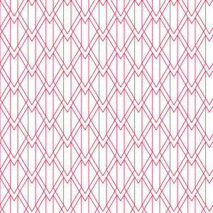 Arrow Knit in Candy Cane Snow - Cotton Fabric By The Yard
