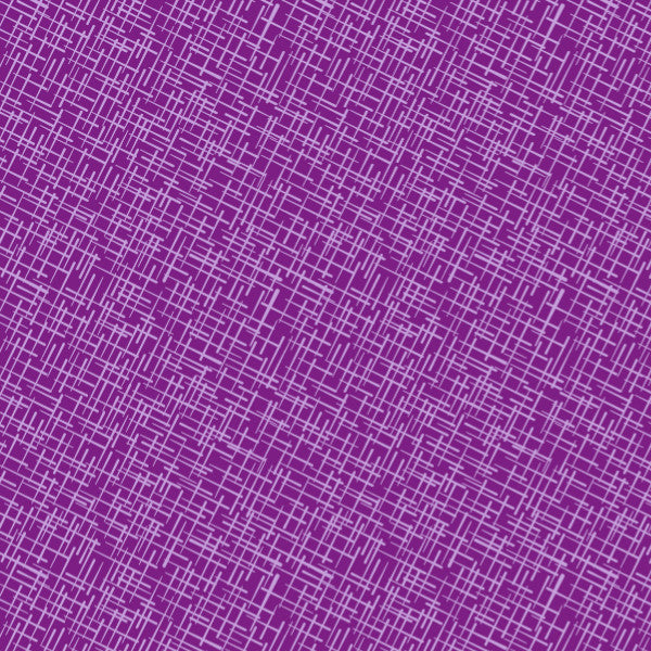 Crosshatch in Berry Bliss - Cotton Fabric By The Yard
