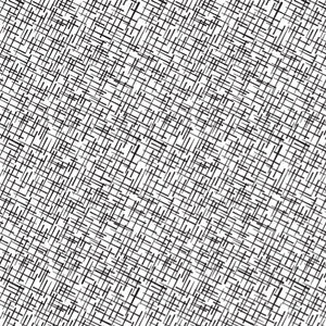 Crosshatch in Black - Cotton Fabric By The Yard