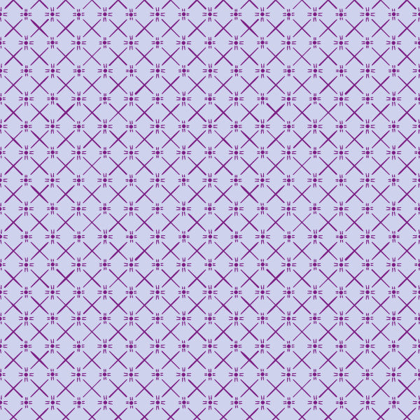 Star Weave in Berry Bliss - Cotton Fabric By The Yard