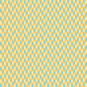 Dapper Bolts in Shindig Yellow and Teal - Cotton Fabric By The Yard