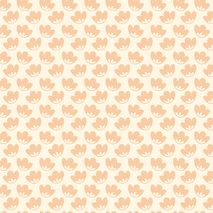 Honey Blooms in Blush - Cotton Fabric By The Yard