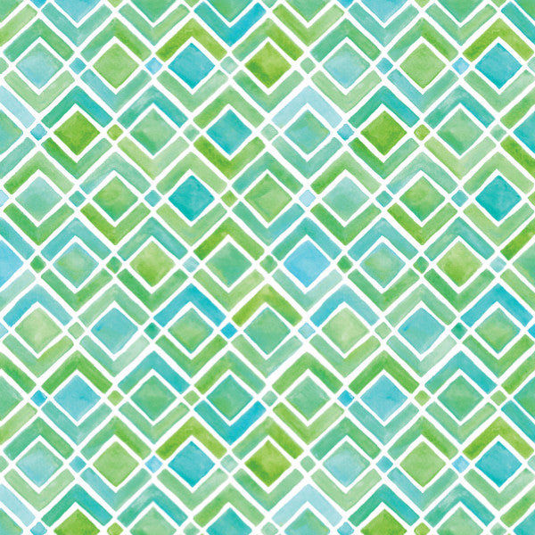 Limeade in Green - Cotton Fabric By The Yard