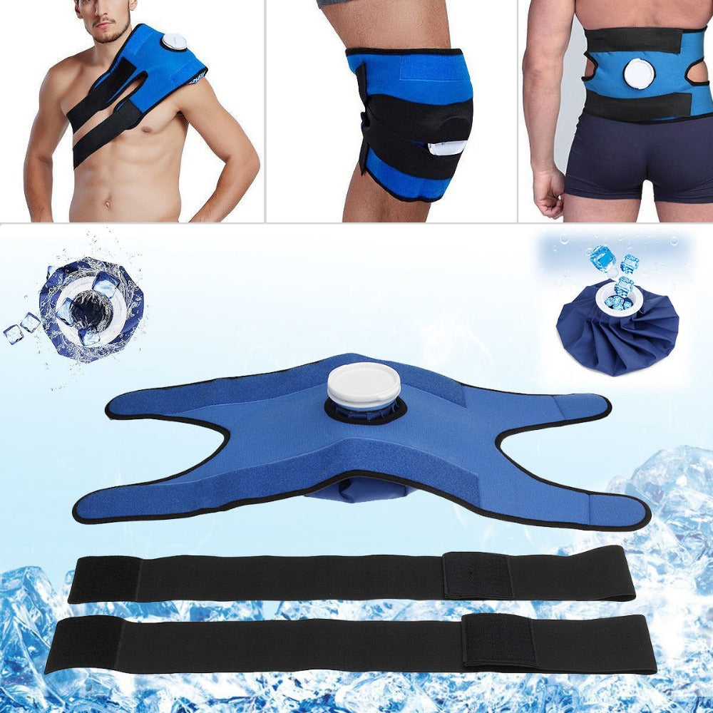 Reusable Ice Bag Cold Pack For Injuries - Neck Knee Pain Relief Ice Bag