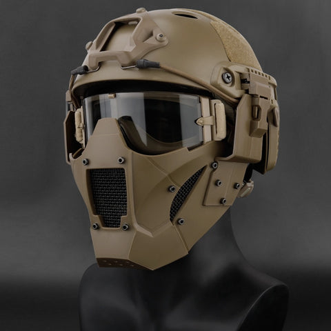 Airsoft Paintball Tactical Combat Half Face Mask