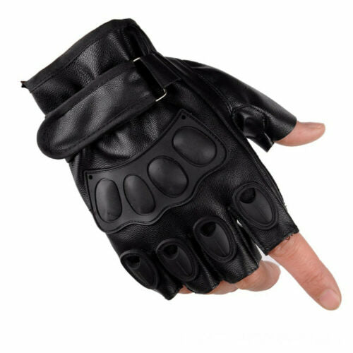 Army Tactical Gloves Half Finger Combat Glove One Size