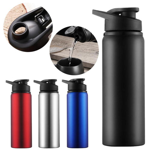 Stainless Steel Water Bottle - Double Wall Portable Outdoor water