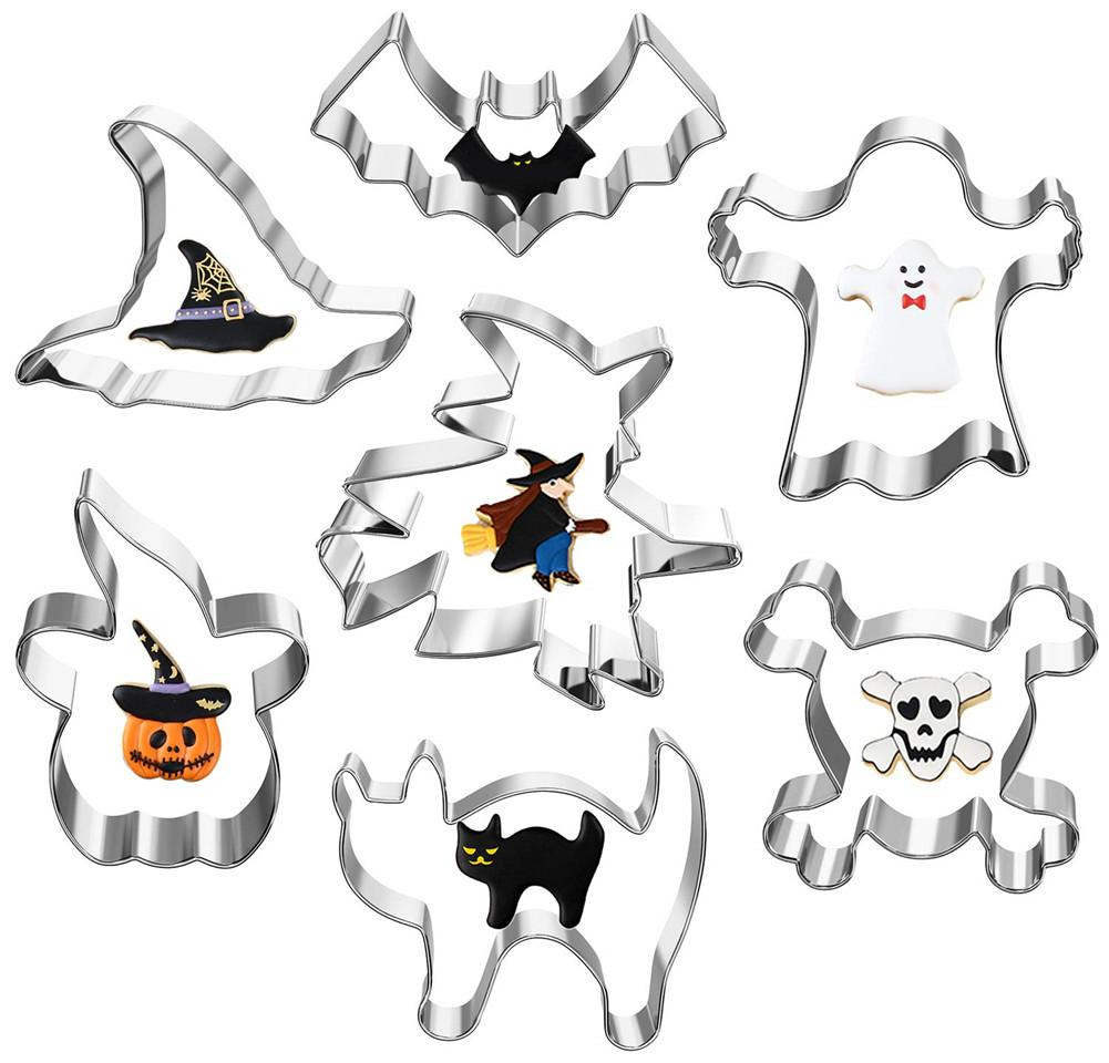 7pcs Halloween Cookie Cutter Set