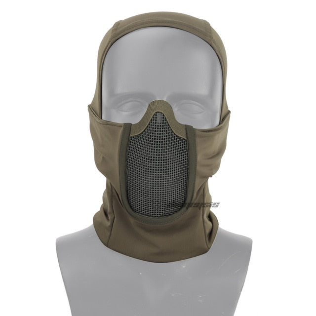 Protective Headgear - Tactical Combat Breathable Mask