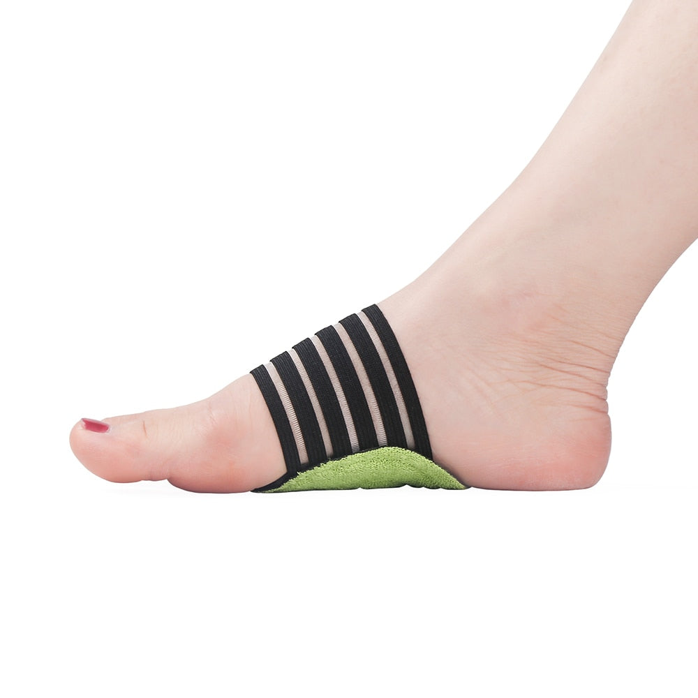 1 pair Foot Arch Support Plantar Fasciitis Heel Pain Aid - Night Foot Care Corrector