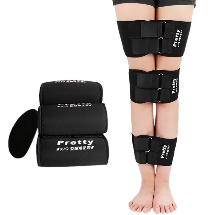 Bowed Legs Corrector Belt Set - Knee Valgum Straightening Correction Belts