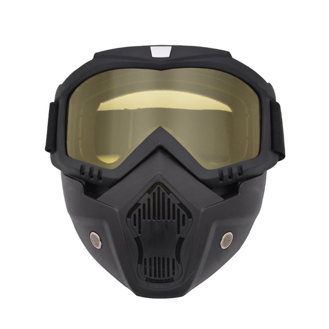 Anti-fog Airsoft Mask - Protective Full Face Paintball Mask