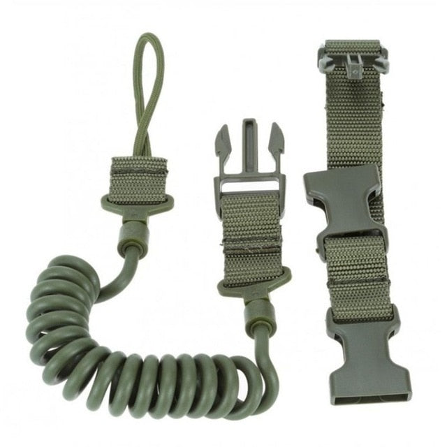 Elastic Tactical Safety Lanyard