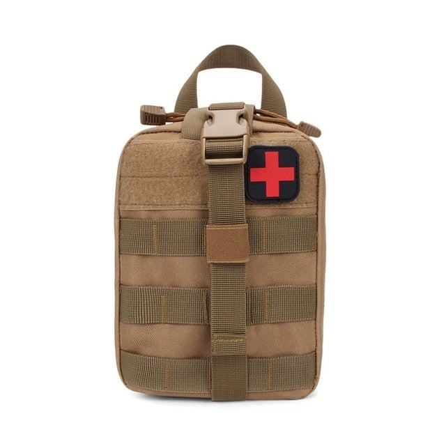 Tactical First Aid Bag - EMT Emergency Survival Pouch - Outdoor Medical Box Large Size Bag