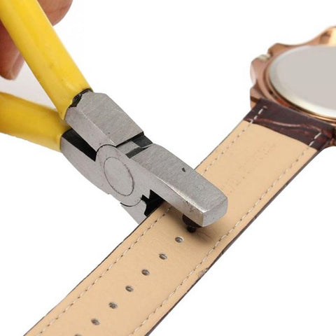 2.0 mm Universal Handheld Leather Watch Strap Hole Puncher
