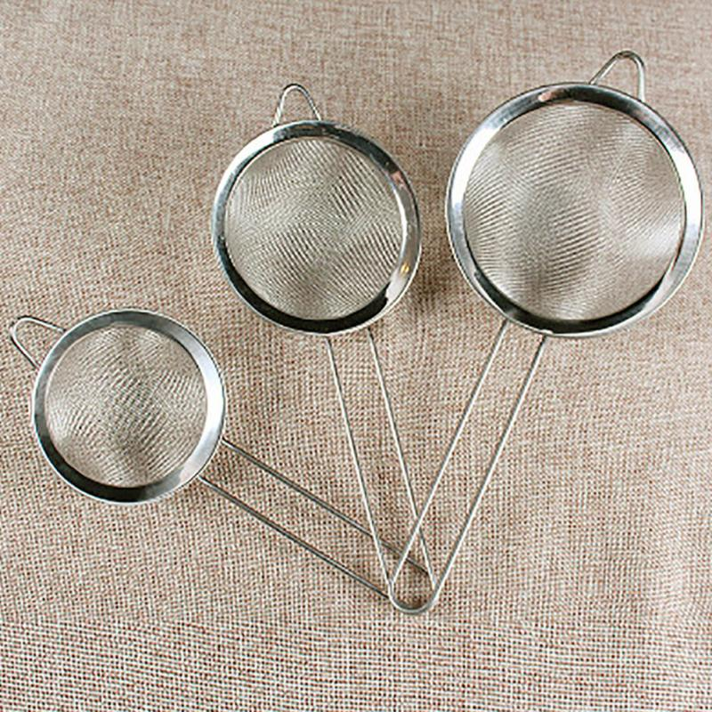 High Quality Kitchen Stainless Steel Strainer Flour Sifter