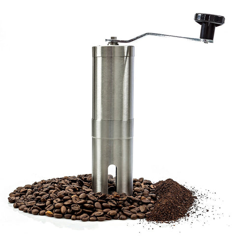 Most Consistent Hand Coffee Grinder & Coffee Press