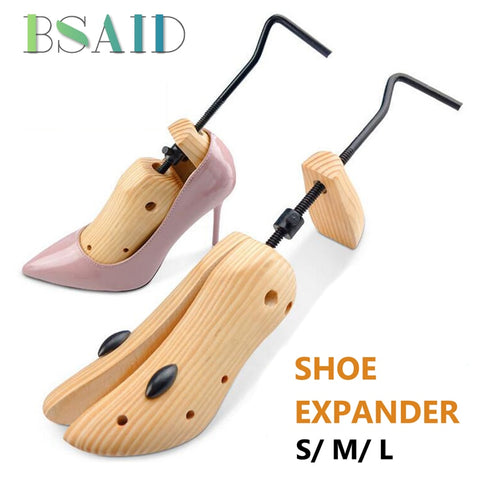 Adjustable Wooden Shoe Stretcher - Women Shoe Expander