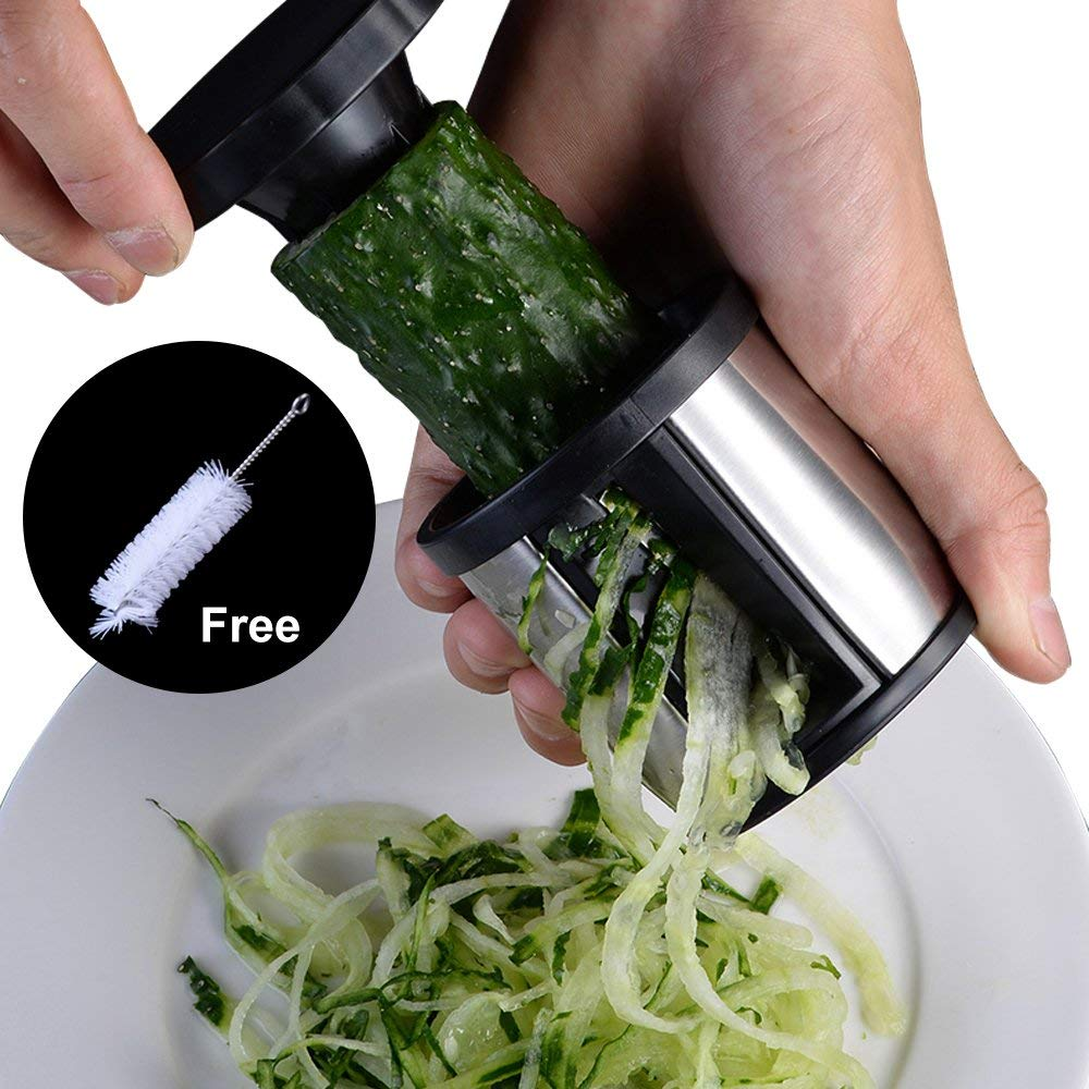 Stainless Steel Vegetable Slicer Cutter Veggie Spiral Cutter