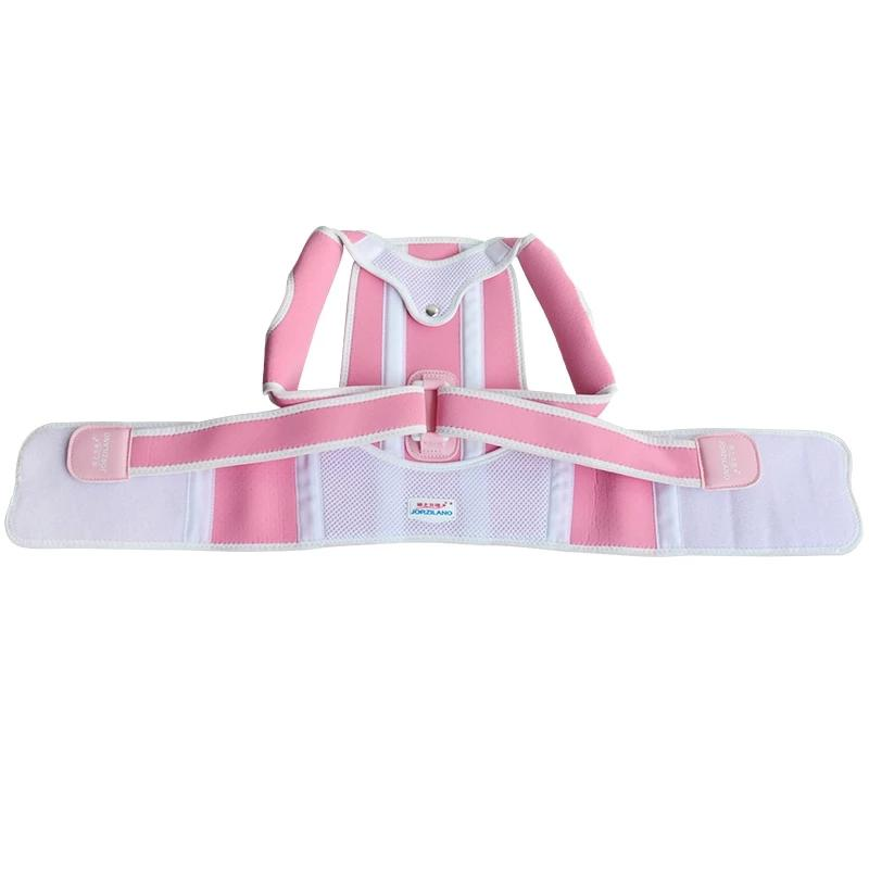 Adjustable Back Posture Corrector with Resin Keel for Children