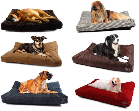 Pet Dog Bed COVER Reversible Washable Kennel Mat