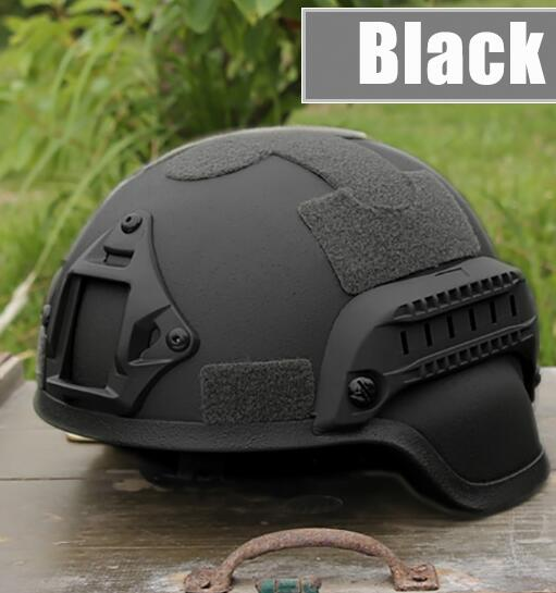 Tactical Helmet With Night Vision Sport Camera Mount