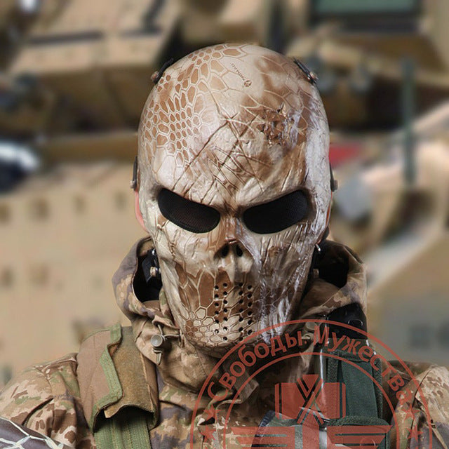 Typhoon Camouflage Hunting Masks - Ghost Tactical Outdoor Full Face Mask