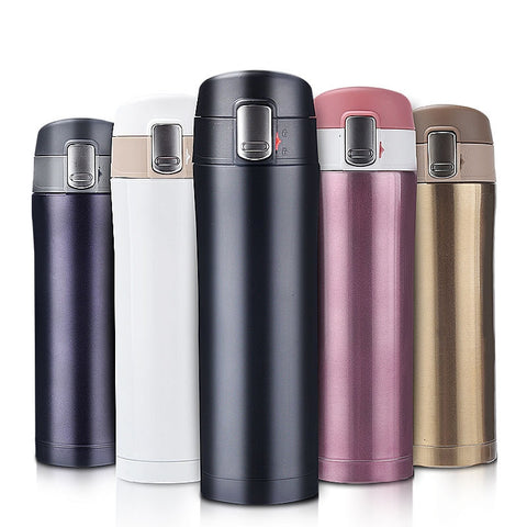 Stainless Steel Double Wall Insulated Thermos Cup Vacuum Flask
