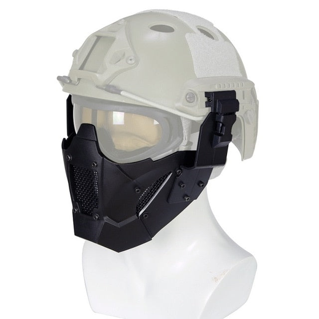 Airsoft Tactical Mask MA-95 Tactical Iron Warrior Half Face Mask