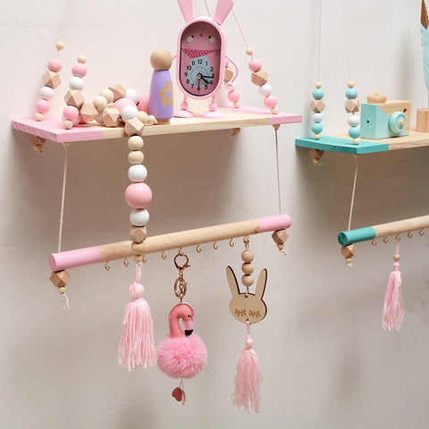 Room Decoration Storage Rack - Hanging Shelves Wall Decor Home Decorations