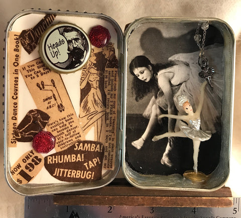 DANCE! Assemblage Art Box