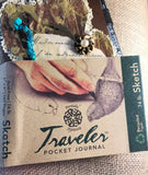 Pentalic Embellished Small Travel Journal Sketchpad