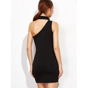 AXI One Shoulder Bodycon-Dress-Radical Behaviour