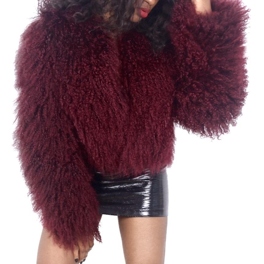 MERLOT Crop Coat-Outerwear-Radical Behaviour
