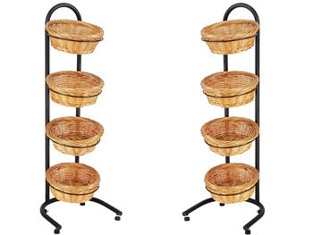 Multi-Tier Basket Stand