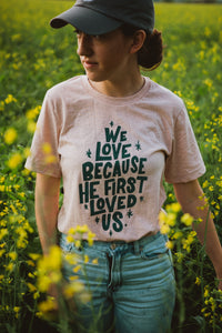 We Love ❤️ - Heather Prism Peach