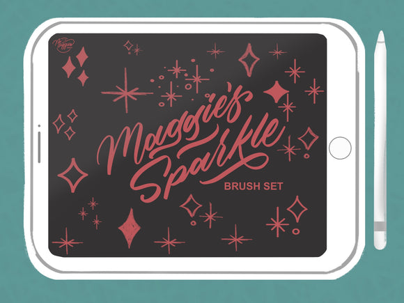 Maggie's Sparkle Brush Pack (Digital Download)