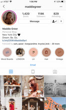 Load image into Gallery viewer, Custom Insta Story Covers