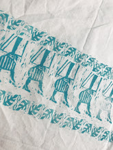 Load image into Gallery viewer, 60s Girl Tote - Pattern 2 - Block Printed