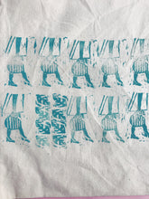 Load image into Gallery viewer, 60s Girl Tote - Pattern 3 - Block Printed