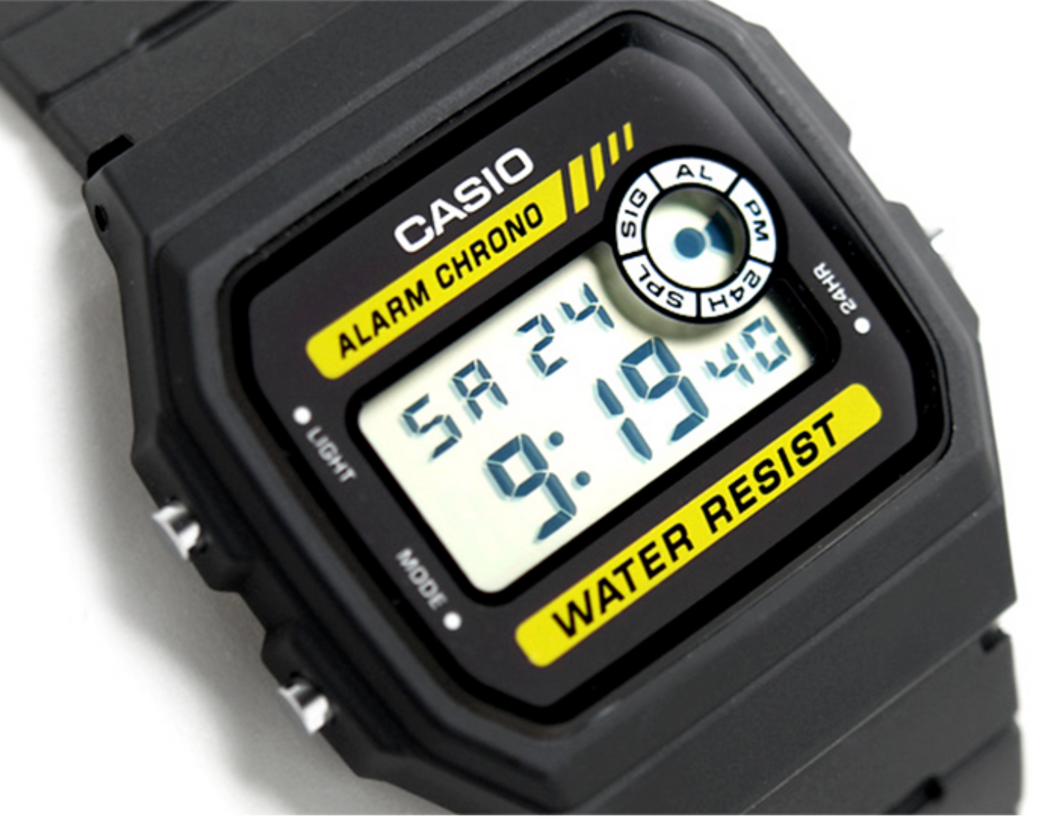 Casio Classic F94W Wrist Watch with Alarm