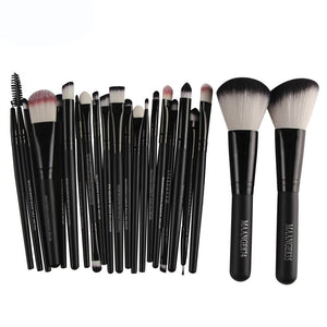 22pcs Cosmetic Makeup Brush Blusher Eye Shadow Brushes Set Kit