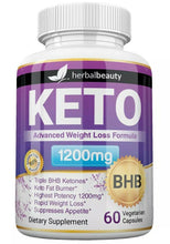 KETO Burn 1200mg PURE Ketone FAT Weight Loss Diet