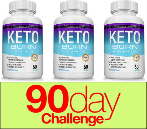 Keto Burn Diet Bottles 90 Day Supply