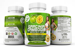 100% Pure Garcinia Cambogia Weight Loss Bottle