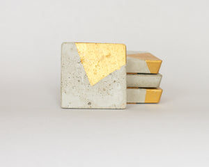 Square Coasters Asymetrical