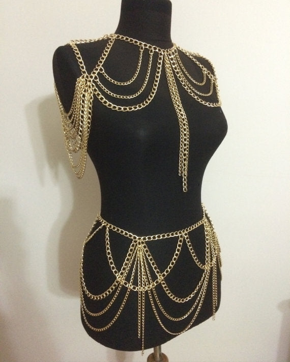Body Chain Bit of Boho